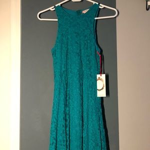 brand new blue lace dress from nordstrom